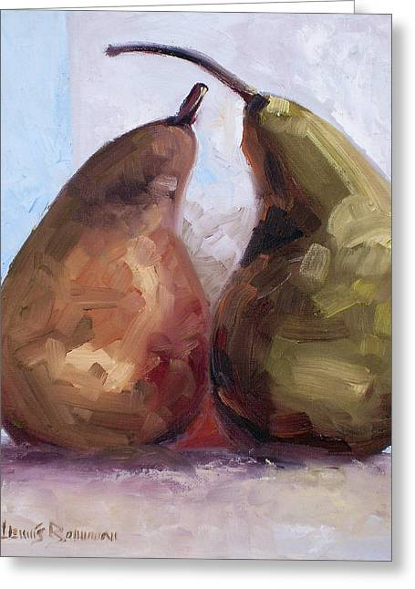 Pears Two Greeting Card
