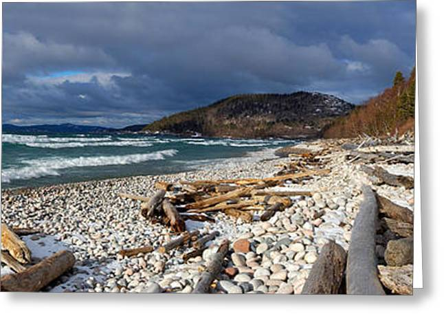 Greeting Card featuring the photograph Pebble Beach by Doug Gibbons