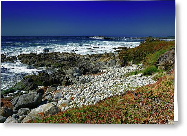 Pebble Beach Greeting Card