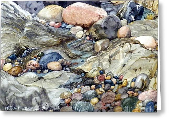 Pebblescape Greeting Card