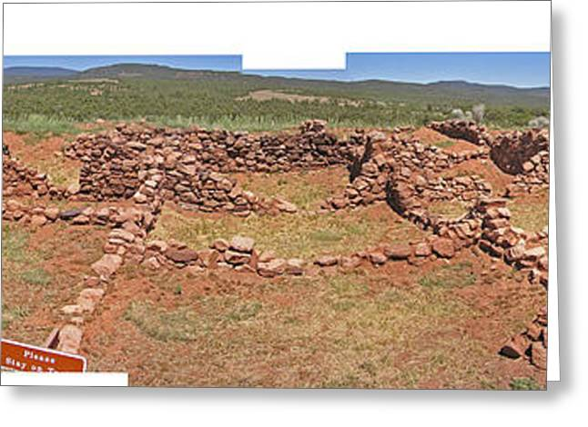 Pecos National Monument - 4 Greeting Card by Randy Muir
