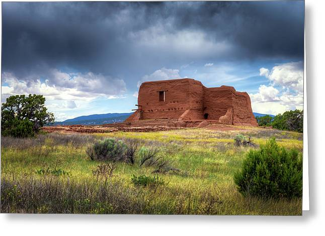 Pecos National Historical Park Greeting Card