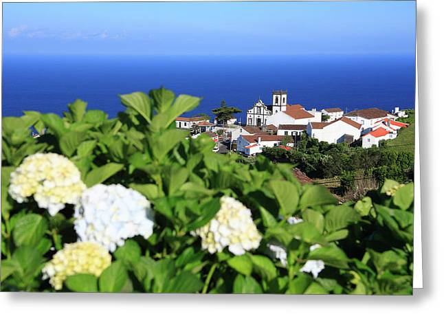 Village By The Sea Greeting Cards - Pedreira do Nordeste Greeting Card by Gaspar Avila