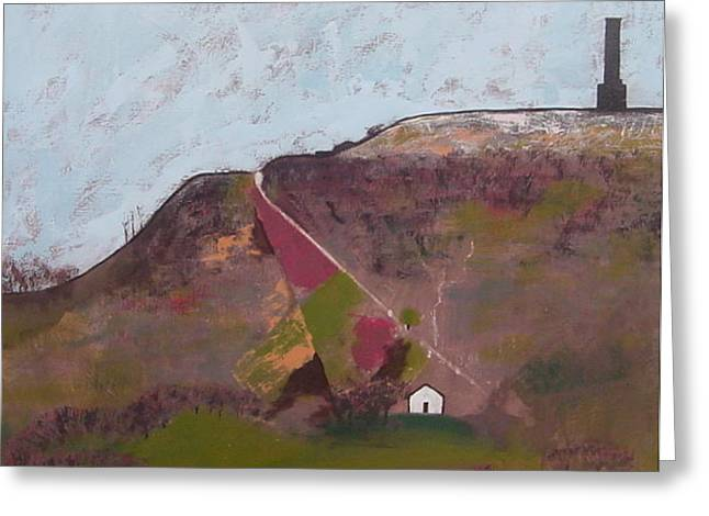 Peel Tower Greeting Card by Joanne Claxton