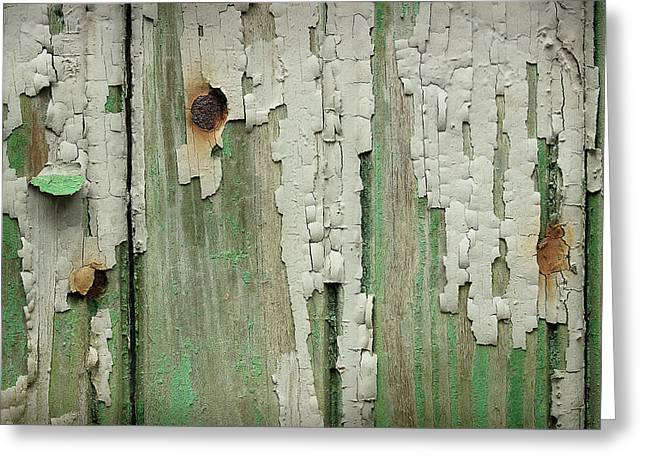 Greeting Card featuring the photograph Peeling 3 by Mike Eingle