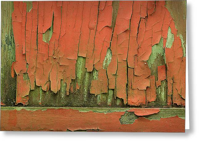 Greeting Card featuring the photograph Peeling 4 by Mike Eingle