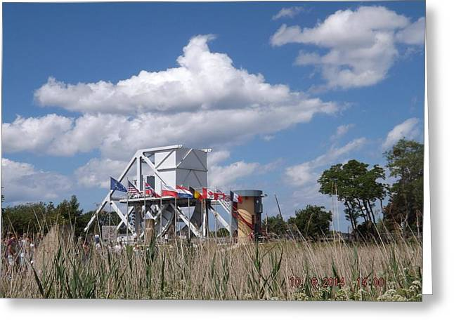 Pegasus Bridge Greeting Card