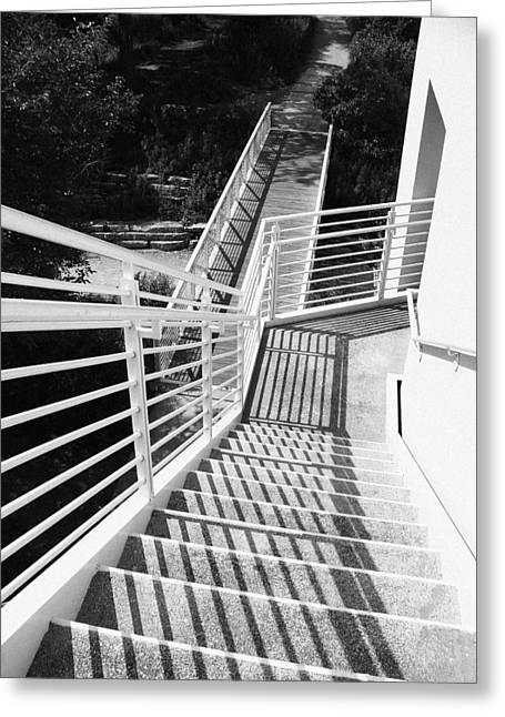 Peggy Notebaert Nature Museum Stairway Greeting Card