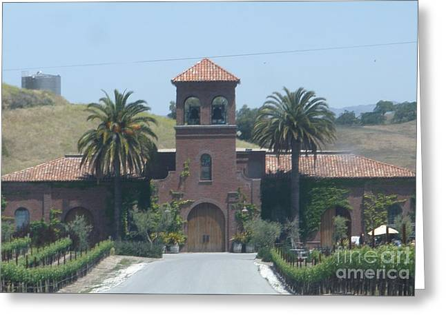 Peitre Santa Winery Greeting Card