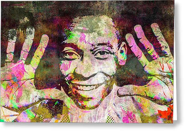 Pele Greeting Card by Svelby Art