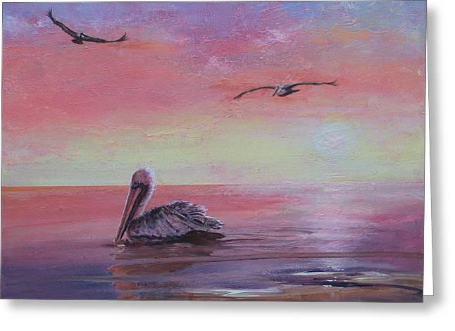 Pelican Bay Greeting Card
