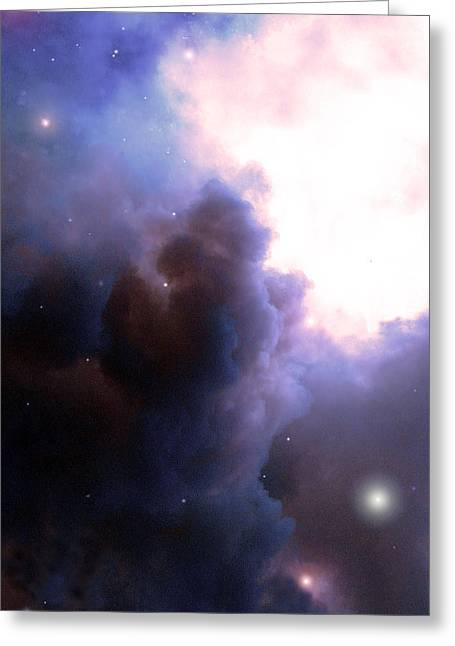 Pelion Nebula Greeting Card
