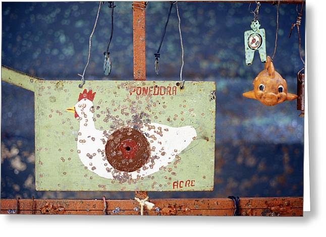 Pellet Gun Targets 3 Greeting Card
