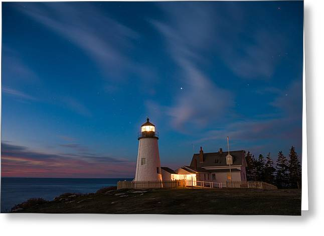 Pemaquid Dawn Greeting Card