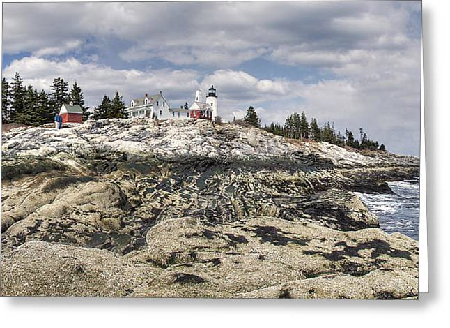 Pemaquid Light Panorama Greeting Card