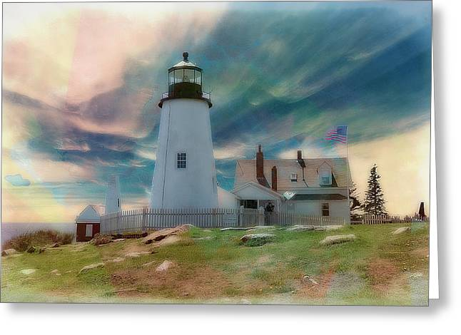 Pemaquid Lighthouse,maine Greeting Card