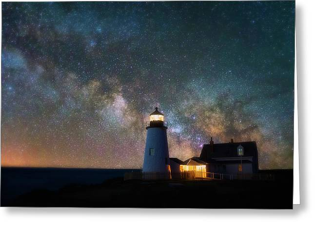 Pemaquid Mysteries Greeting Card by Darren White