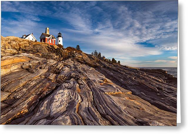 Pemaquid Point  Greeting Card by Darren White