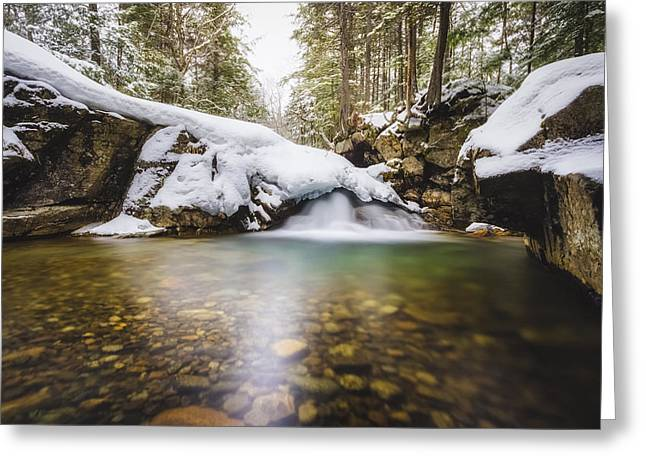 Greeting Card featuring the photograph Pemigewasset River by Robert Clifford