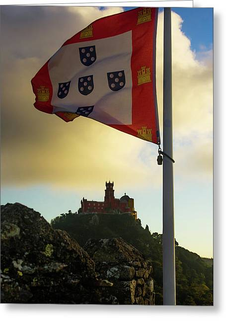 Pena Palace In Sintra Greeting Card