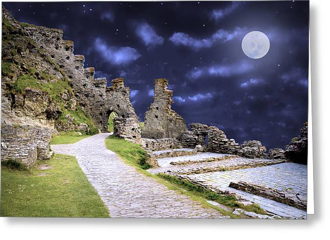 Pendragon Moon Greeting Card