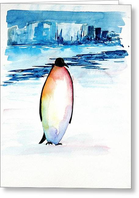 Penguin 2 Greeting Card