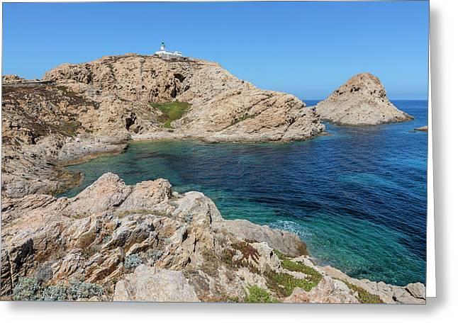 Peninsula L'ile Rousse - Corsica Greeting Card