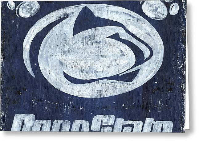 Penn State Greeting Card by Debbie DeWitt