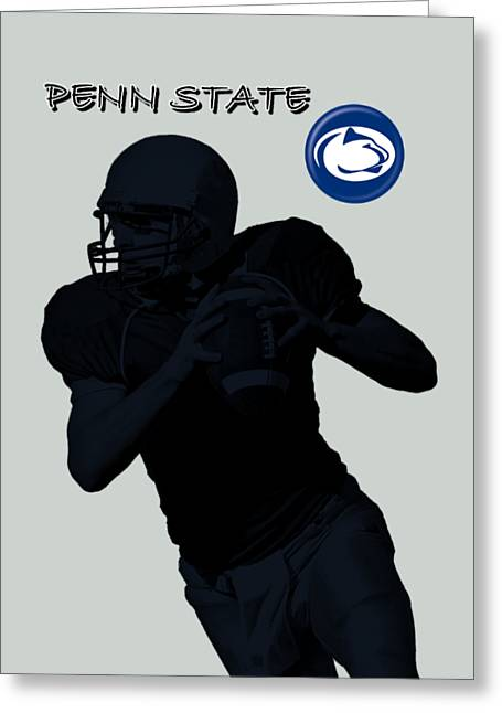 Penn State Football Greeting Card by David Dehner