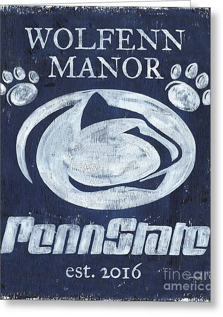 Penn State Personalized Greeting Card