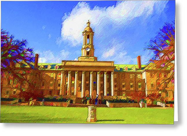 Penn State University Greeting Card