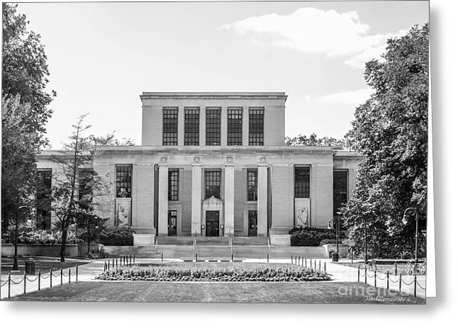 Penn State University Pattee Paterno Library Greeting Card by University Icons