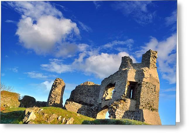 Pennard Castle Greeting Card