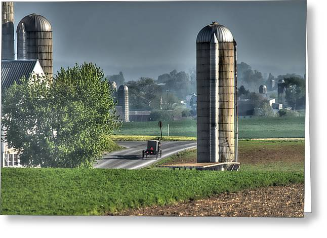 Pennsylvania - Amish Country  Greeting Card