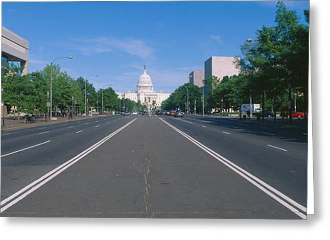 Pennsylvania Avenue, Washington Dc Greeting Card