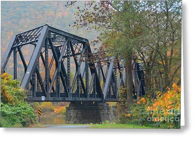 Pennsylvania Bridge Greeting Card by Cindy Manero