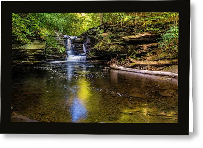 Pennsylvania Cascades Greeting Card by Marvin Spates