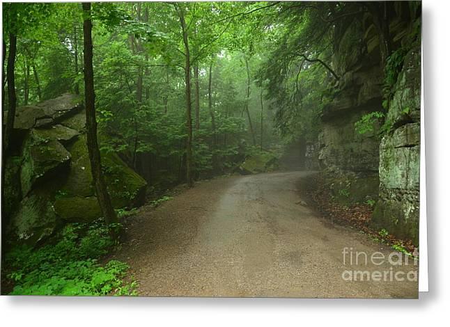 Pennsylvania Mountain Scene - 2 Greeting Card by Bob Sample