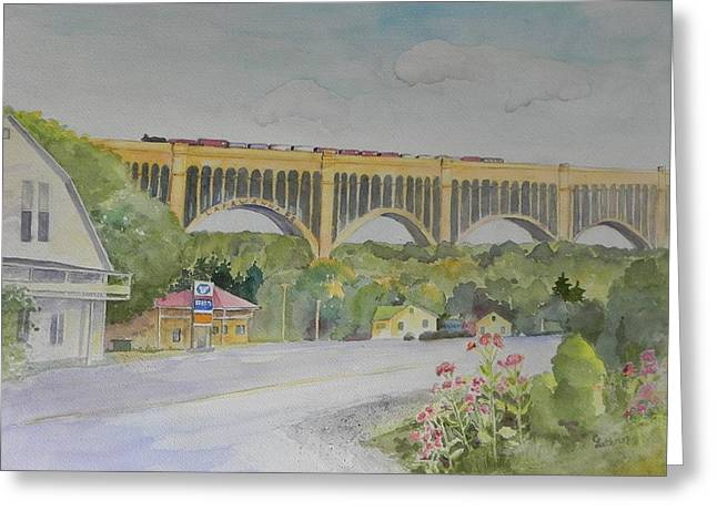 Pennsylvania - Nicholson Bridge Greeting Card