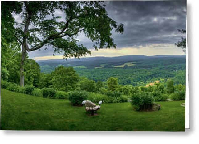 Pennsylvania Overlook Greeting Card