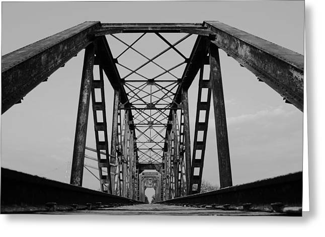 Pennsylvania Steel Co. Railroad Bridge Greeting Card