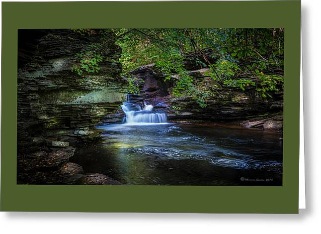 Pennsylvania Stream Greeting Card by Marvin Spates