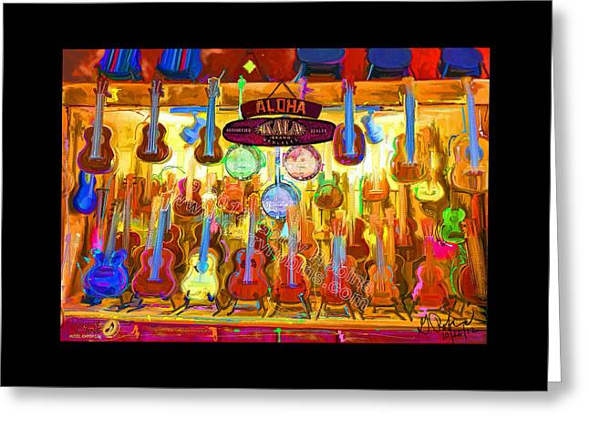 Penny Lane Emporium Greeting Card by Gerry Robins