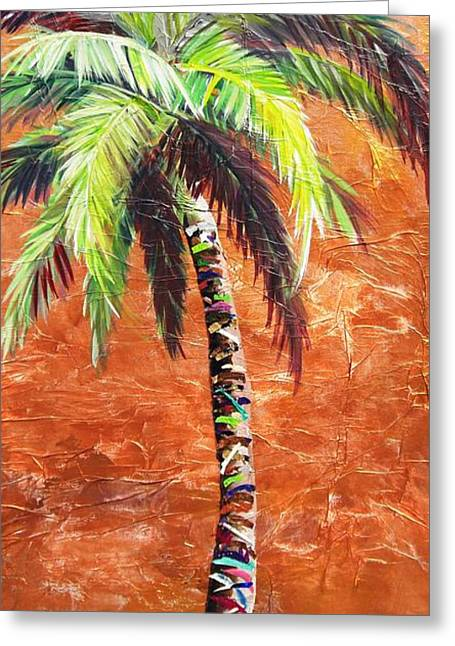 Penny Palm Greeting Card