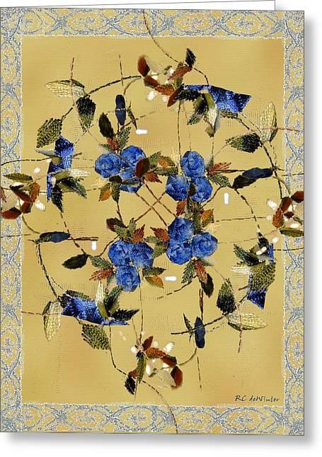 Penny Postcard Silk-stitched Greeting Card