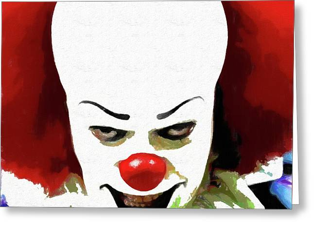 Pennywise Clown Greeting Card