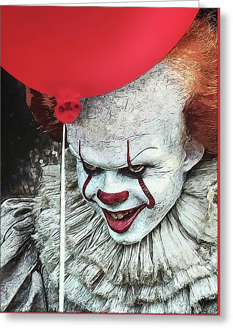 Pennywise Greeting Card