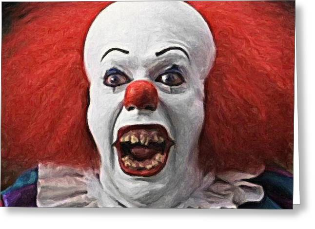 Pennywise The Clown Greeting Card