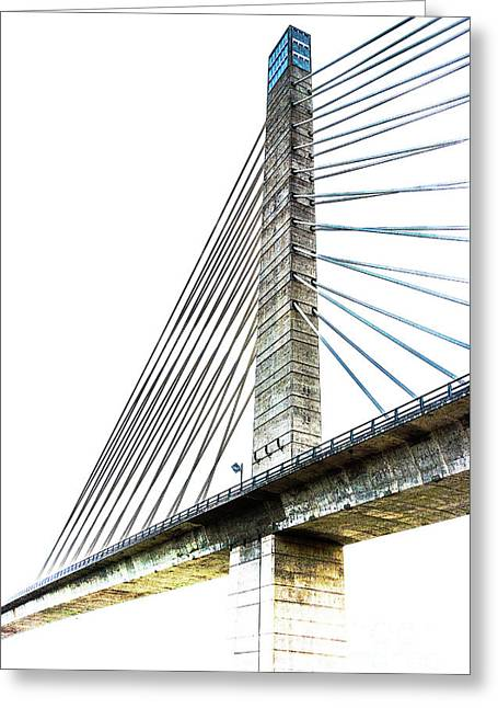 Penobscot Narrows Bridge And Observatory Greeting Card