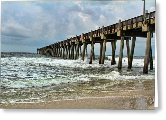 Pensacola Pier Greeting Card